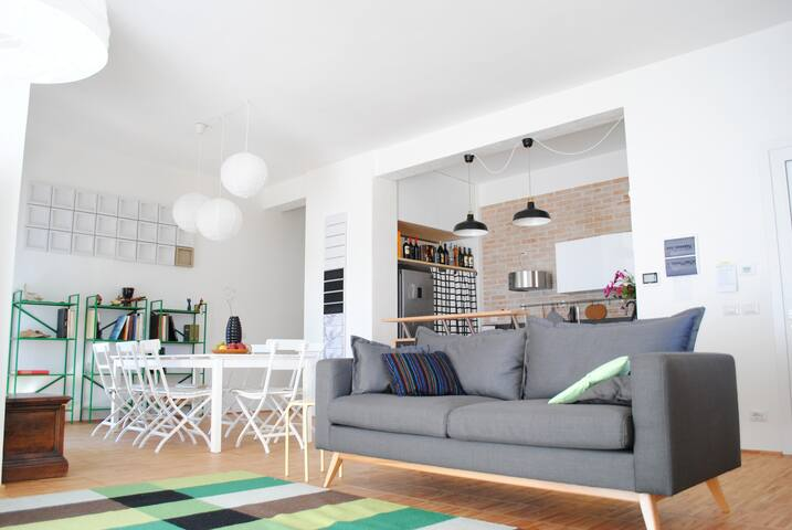 Loft (almost) by the sea - Civitanova Marche - Apartment