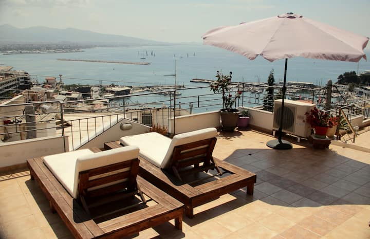 Luxurious apartment with the best sea view 140m2