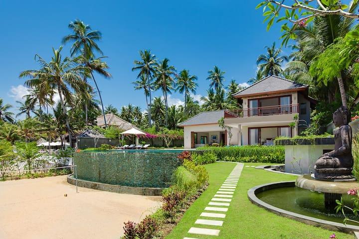 Stunning New 4 Bedroom Villa, Candidasa - Manggis - Apartment
