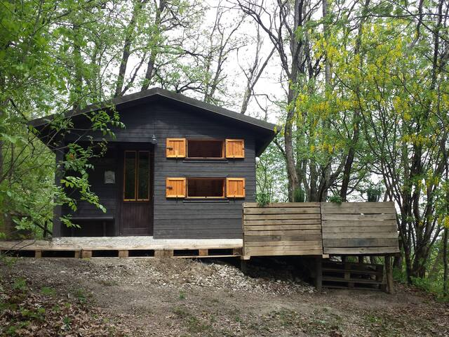 MiniChalet at the edge of the woods - San Sebastiano Curone - Cabin