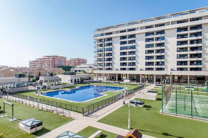 BEACH APARTMENT WITH ALL THE SERVICES, VALENCIA