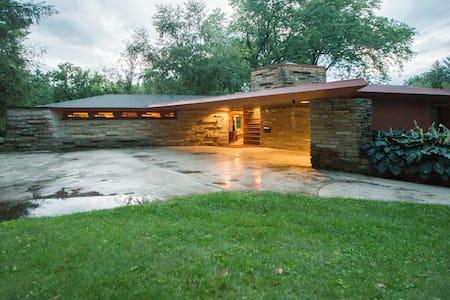 Frank Lloyd Wright's Kinney House - แลงคาสเตอร์ - บ้าน
