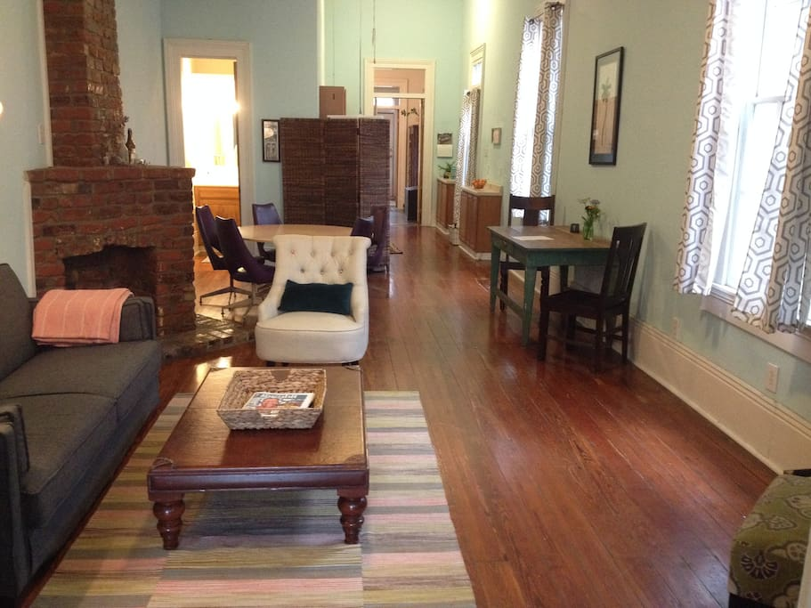 Historic Bywater Shotgun Guest Suites For Rent In New