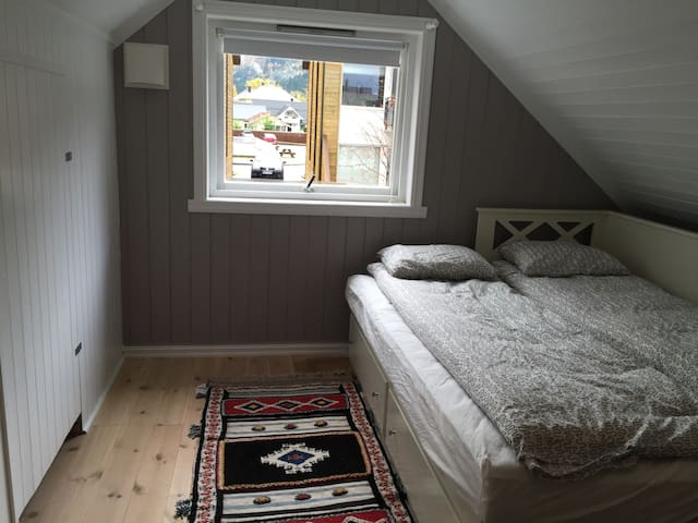 Bedroom with 2 dubblebed's (150 cm)
