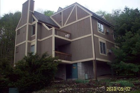 Adorable Ski/Golf Condo close to hills and retreat - Clymer - Condomínio