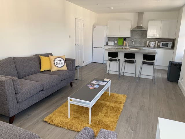 Coastal Contemporary Apartment Broughty Ferry