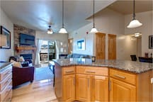 Spacious and open Kitchen, Living Room, Dining Room