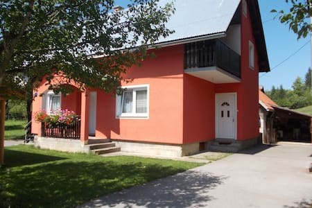Apartment Matovina (Upstairs) - Saborsko - Byt