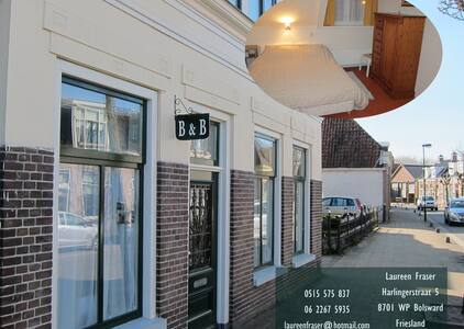 Bed and Breakfast Bolsward - Szoba reggelivel