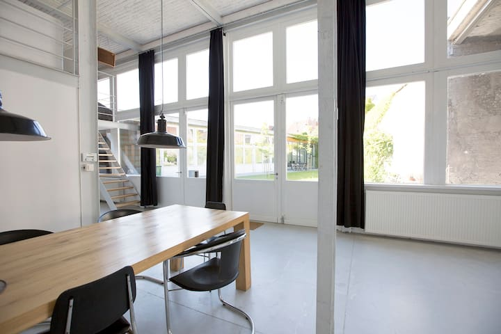 Stay at my loft / studio - Antwerpen - Loft