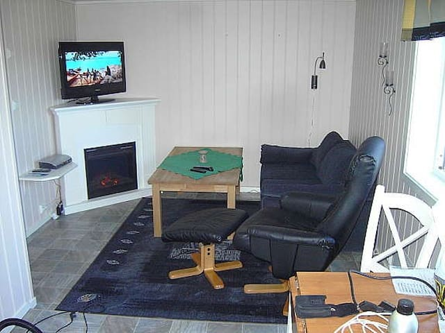 Cozy little apartment in Lofoten. - Gravdal - Pis