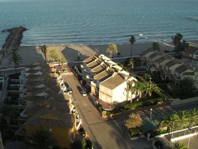 Apartamento en 1ª línea de Playa - El Puig - Apartment