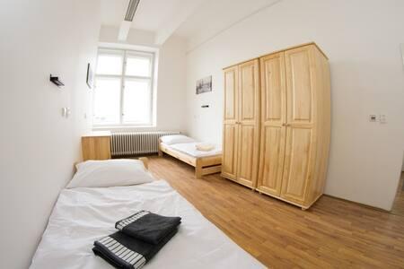 soukromý pokoj pro 2, centrum města - Hradec Králové