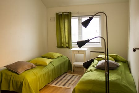 The Panorama room with two/three beds - Bergen - Reihenhaus
