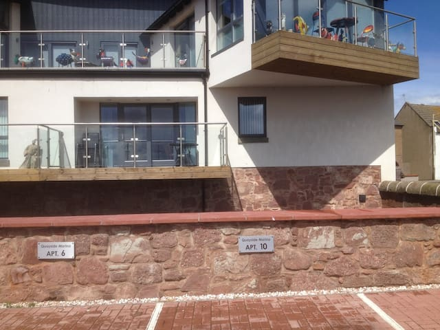 Arbroath luxury harbour apartment - Arbroath - Wohnung