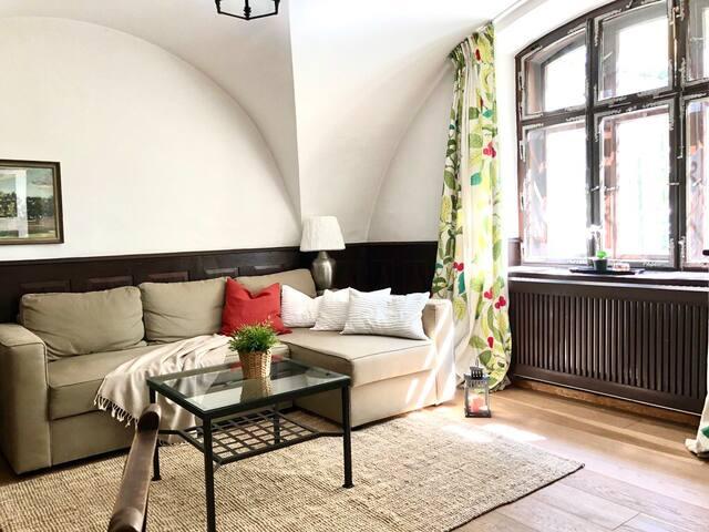 Schloss im Zentrum von Salzburg Stadt