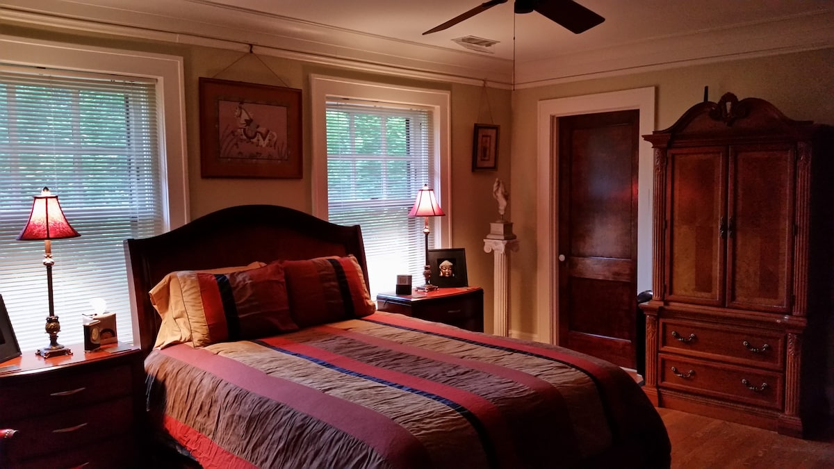 ... Beautiful Master Bedroom Suite, With Private Bathroom, Separate Private  Kitchenette, And