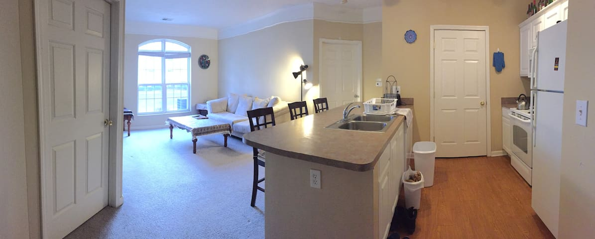 Nice Furnished Private Room/Full Bath - Urbana - Apartamento