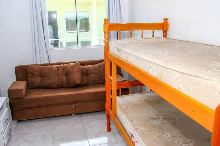 Beliche e sofá-cama