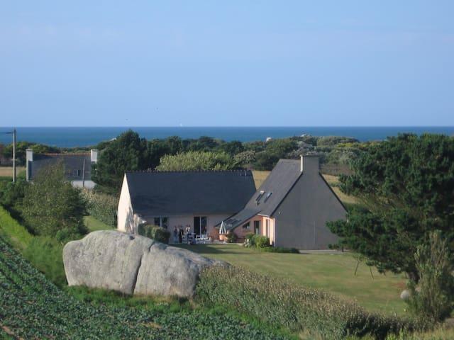 Maison indépendante bord de mer - Kerlouan - Dom