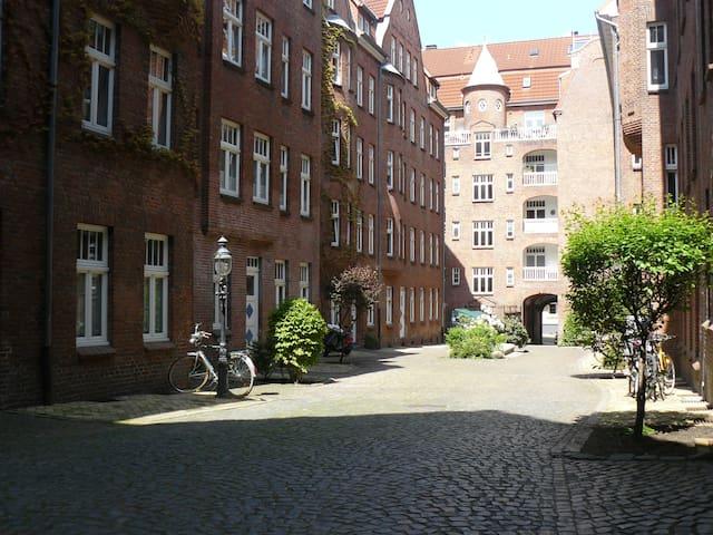 Große Altstadtwohnung