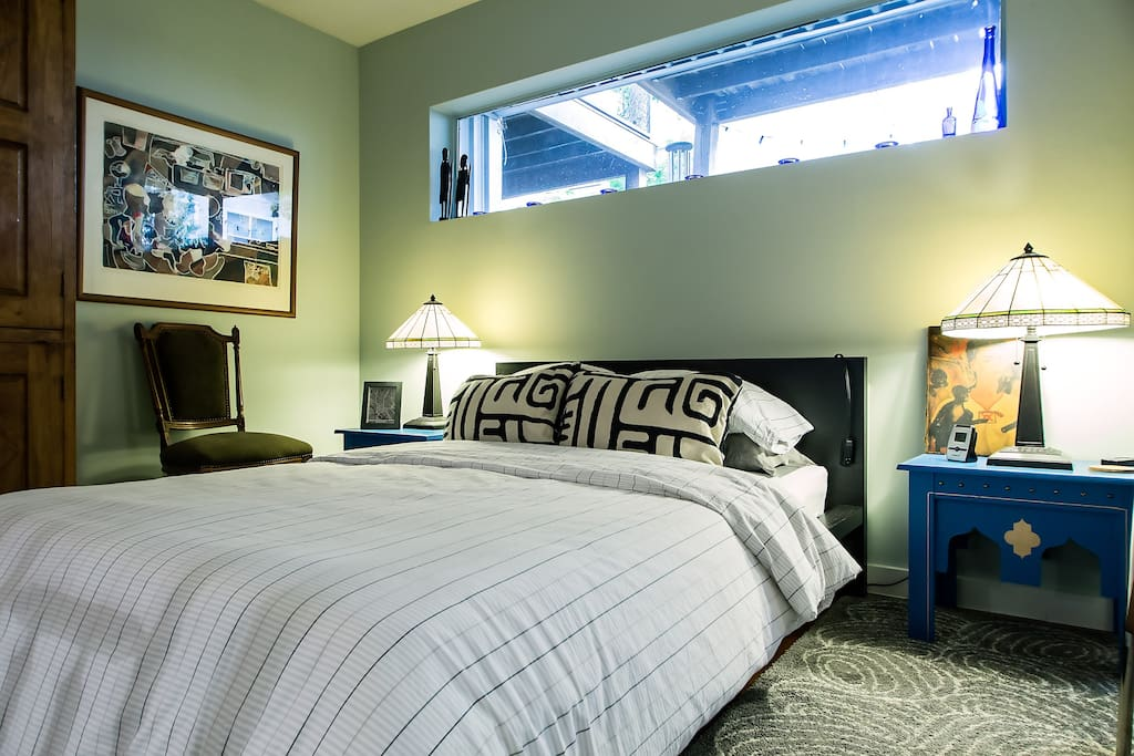 Private bedroom located on first floor.