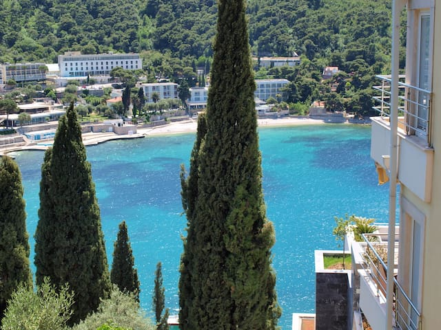 L' Heure Bleue Apartment | Imagine waking up to this amazing view during your next vacation?
