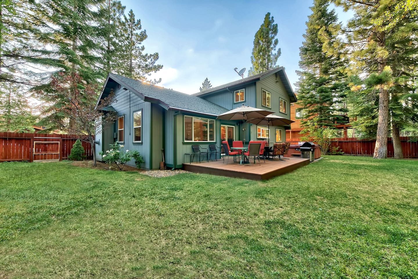 Outdoor adventures await at this South Lake Tahoe vacation rental home!