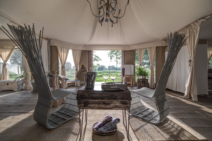 SUITE BAMBOO : THE QUEEN TENT ! - MIRANO - Bed & Breakfast