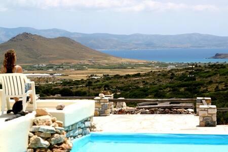 Villa Mirtula, mountain retrait with plonge pool - Kostos
