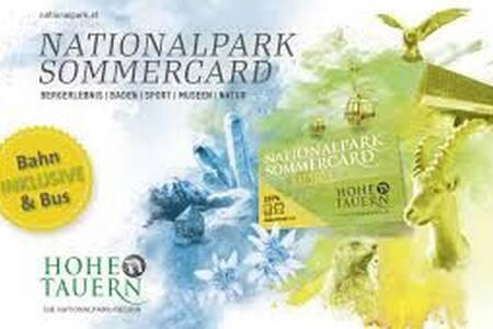 [2] Free Nationalpark Sommercard Mobil included - Uttendorf