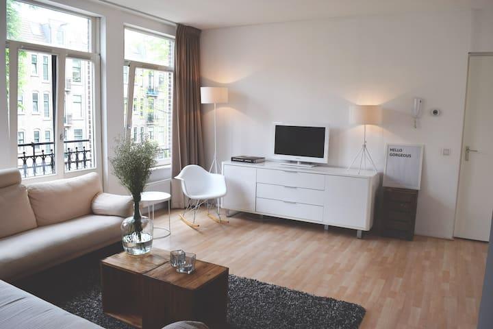 Light spacious 2 bedroom apartment - Amsterdam - Flat