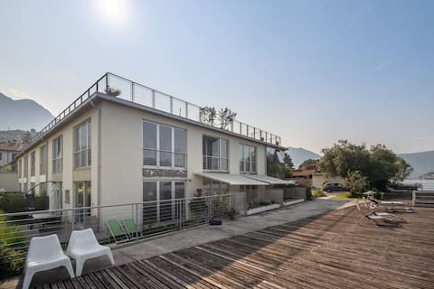 Luxurious Apartment in Marone overlooking lake Iseo