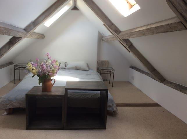 Double bedroom in the loft/attic
