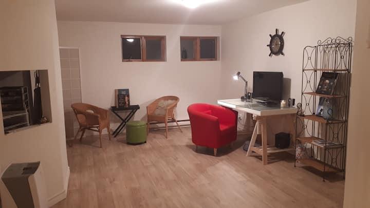 Studio Sous Sol chambre Centre-ville