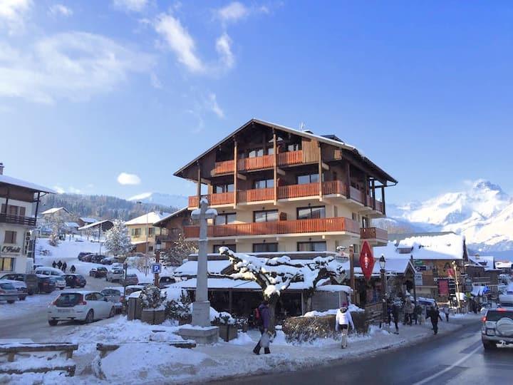 Breathtaking, Terrace Facing Mont-Blanc! #103