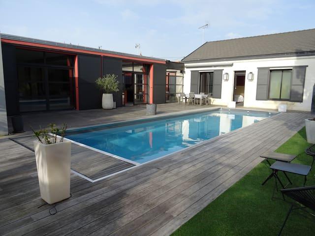 Villa Architecte - La Rochelle Ville - Piscine 28°