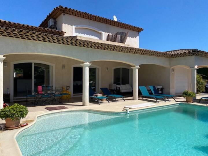 Villa Antibes avec piscine, 3 chambres