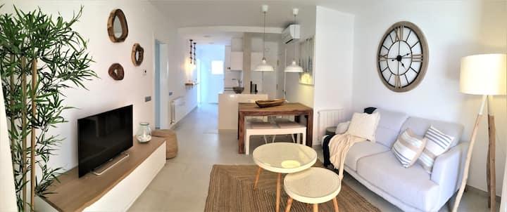 Lujoso apartamento a 2 minutos de la playa