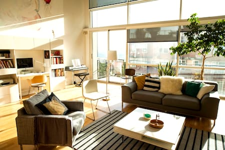 Spacious 2BD Loft in heart of Seattle (+ parking!) - Seattle