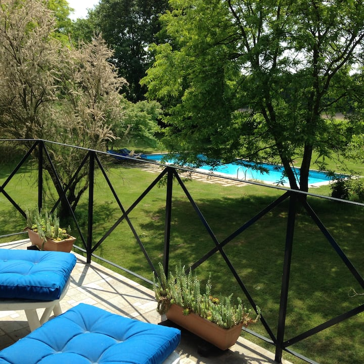 Apartment in countryside of Pavia