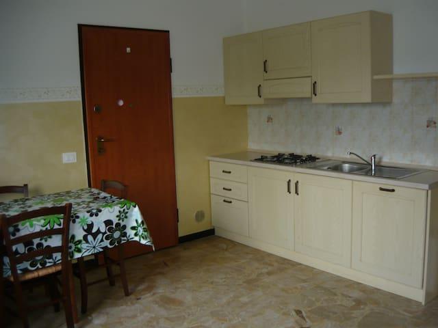 Cucina alloggio 6 posti