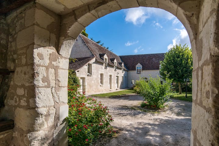 Maison d'hôtes LA MILAUDIERE : Chambre VENISE - Ligré - Penzion (B&B)