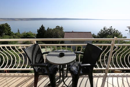 Amazing view from apartment - Starigrad - 公寓