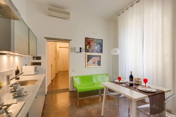 Luxury apartment in Chianti area