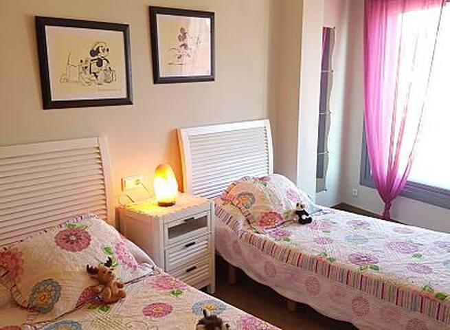 Habitación de 2 camas gemelas