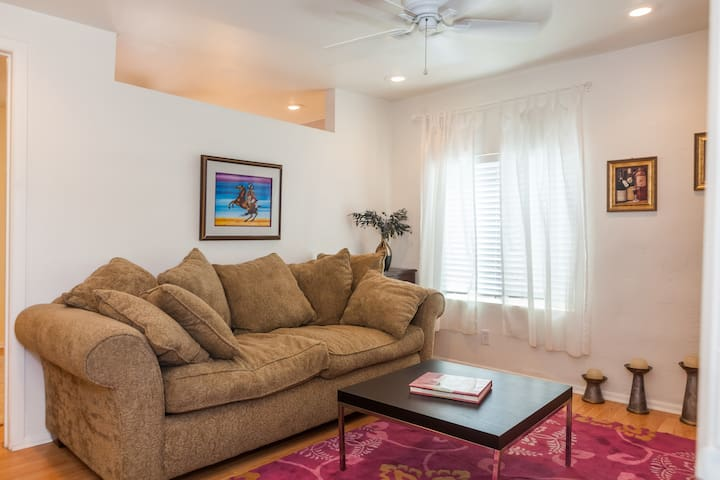 Homey 1 bedroom short walk to Convention Center