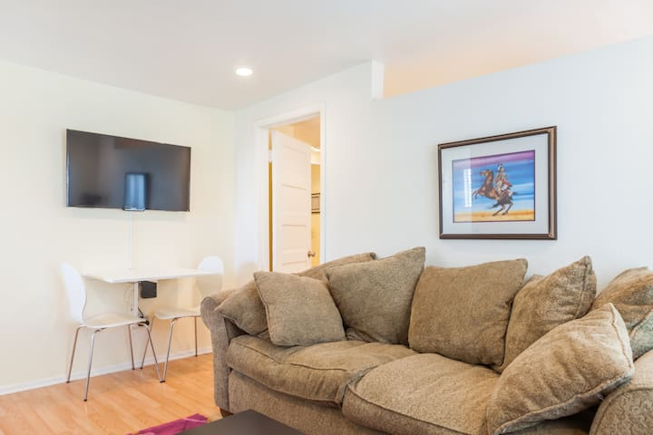 Comfy 1 bedroom short walk to Convention Center