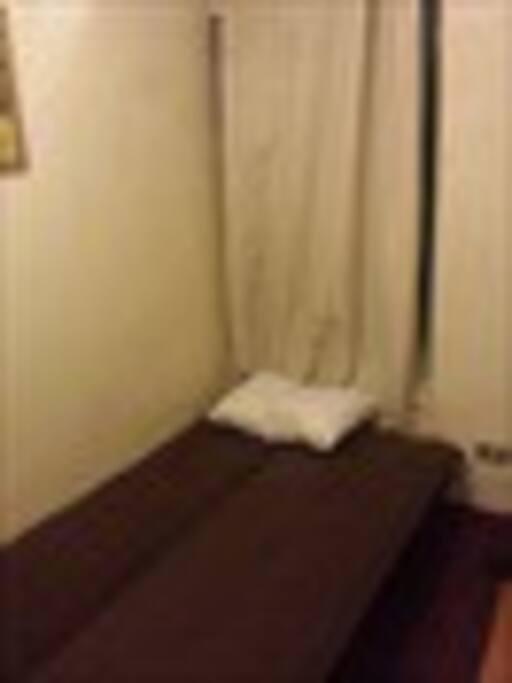 Habitación con ventana y futón para 1 o 2 personas