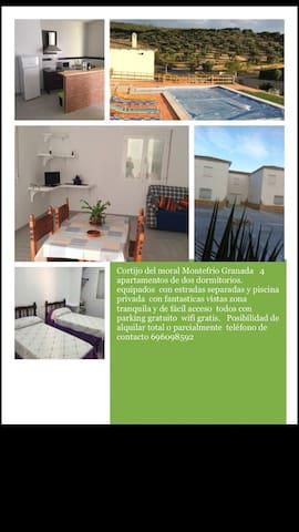 Cortijo  del moral apartamentos - Montefrío - Inny